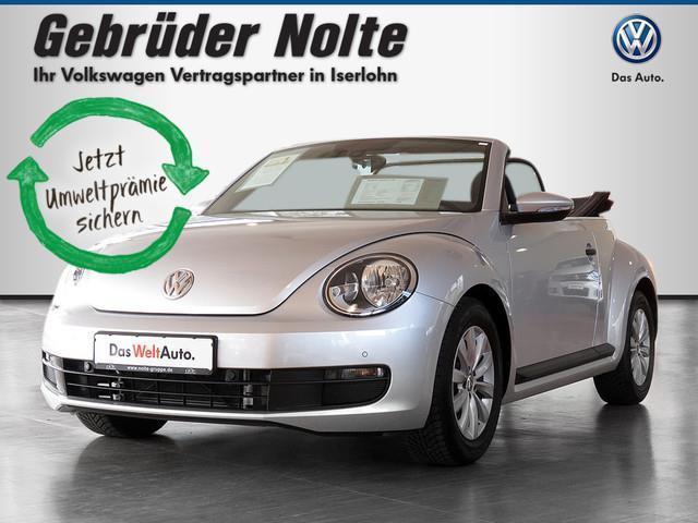 verkauft vw beetle cabriolet 1 2 tsi f gebraucht 2016 6. Black Bedroom Furniture Sets. Home Design Ideas