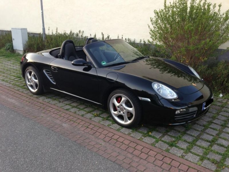 verkauft porsche boxster s gebraucht 2006 km in forst. Black Bedroom Furniture Sets. Home Design Ideas