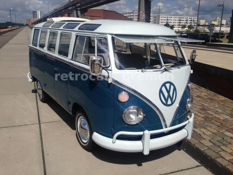 verkauft vw t1 sambabus 21 fenster an gebraucht 1966 km in frontenhausen. Black Bedroom Furniture Sets. Home Design Ideas