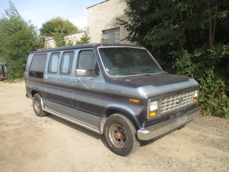 econoline gebrauchte ford econoline kaufen 37 g nstige autos zum verkauf. Black Bedroom Furniture Sets. Home Design Ideas