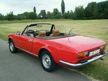 verkauft peugeot 504 cabrio gebraucht 1979 km in graben neudorf. Black Bedroom Furniture Sets. Home Design Ideas