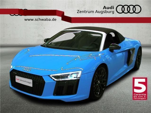 verkauft audi r8 spyder v10 5 2 fsi sp gebraucht 2017 km in augsburg. Black Bedroom Furniture Sets. Home Design Ideas