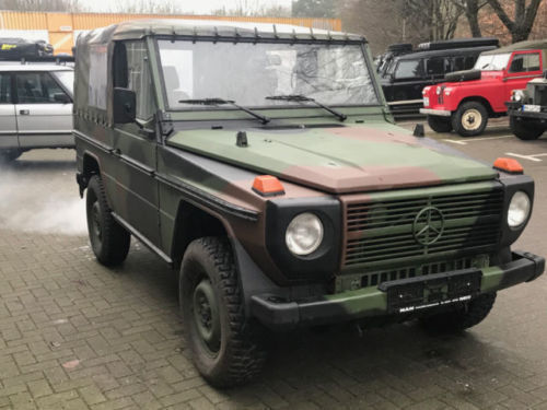 gebraucht offen mercedes g250 1991 km in hamburg lokstedt. Black Bedroom Furniture Sets. Home Design Ideas