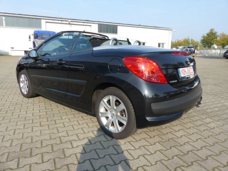 verkauft peugeot 207 cc 120 vti sport gebraucht 2007 km in nordhorn. Black Bedroom Furniture Sets. Home Design Ideas