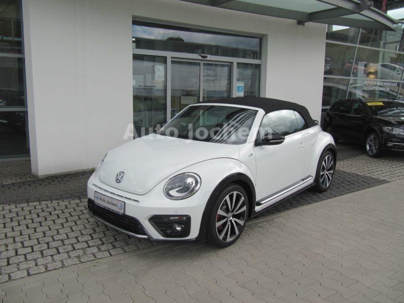 verkauft vw beetle cabrio r line 2 0 gebraucht 2017 100 km in illingen st ing. Black Bedroom Furniture Sets. Home Design Ideas