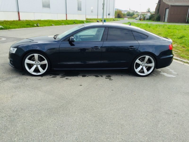 Audi a5 sportback s line 2012 gebraucht 14