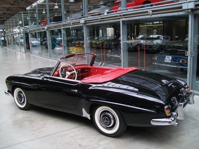 verkauft mercedes 190 sl cabriolet gebraucht 1960. Black Bedroom Furniture Sets. Home Design Ideas