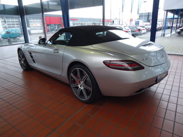 gebraucht roadster mercedes sls amg 2012 km in trier euren. Black Bedroom Furniture Sets. Home Design Ideas