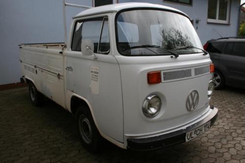 verkauft vw t2 b pritsche bus bulli gebraucht 1976 km in ehweiler. Black Bedroom Furniture Sets. Home Design Ideas