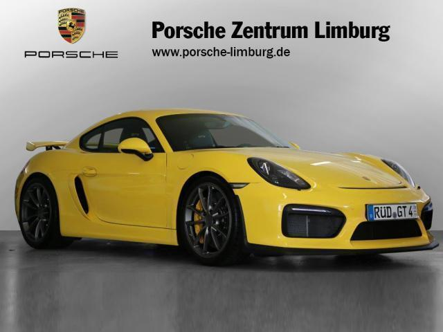 verkauft porsche cayman gt4 981 gebraucht 2016 km in diez. Black Bedroom Furniture Sets. Home Design Ideas