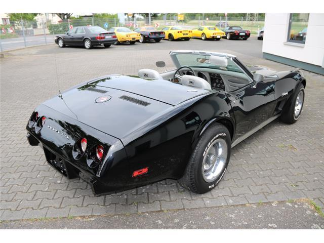 verkauft corvette c3 cabrio mit histor gebraucht 1975 km in moerfelden. Black Bedroom Furniture Sets. Home Design Ideas