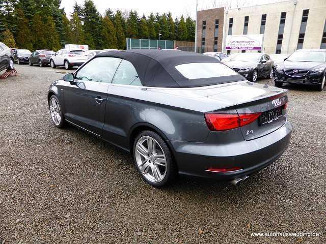 verkauft audi a3 cabriolet 1 4 tfsi gebraucht 2015 31. Black Bedroom Furniture Sets. Home Design Ideas
