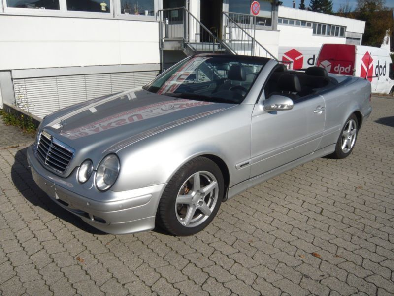 verkauft mercedes clk230 cabrio kompre gebraucht 2001. Black Bedroom Furniture Sets. Home Design Ideas