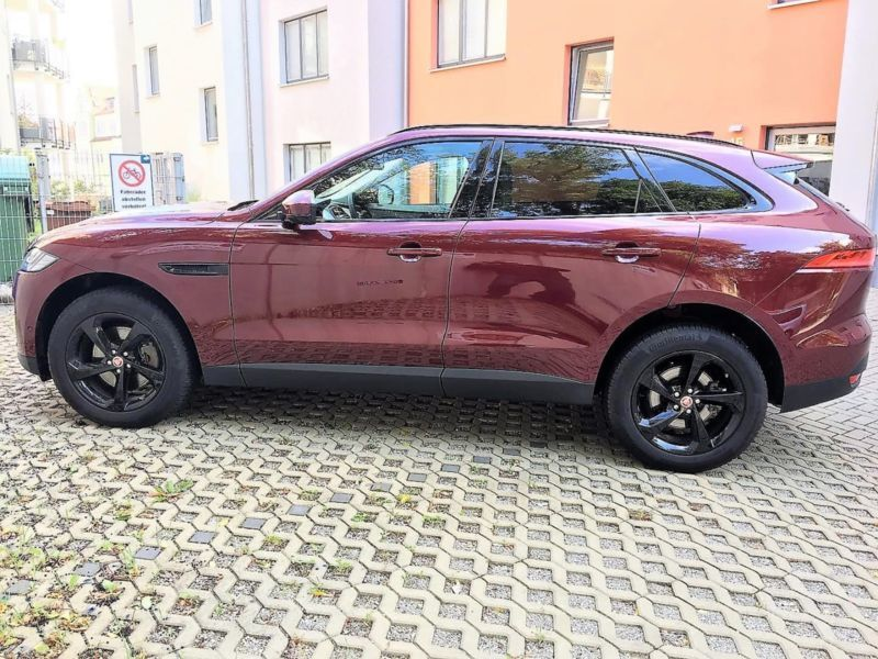 verkauft jaguar f pace 35t awd portfol gebraucht 2016. Black Bedroom Furniture Sets. Home Design Ideas