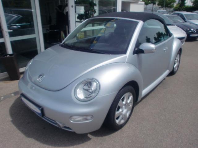verkauft vw beetle newcabriolet 2 0 kl gebraucht 2004 km in augsburg. Black Bedroom Furniture Sets. Home Design Ideas
