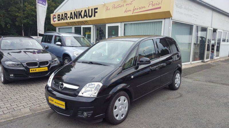 verkauft opel meriva 1 4 catch me now gebraucht 2007 km in naila. Black Bedroom Furniture Sets. Home Design Ideas