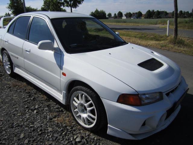 verkauft mitsubishi lancer evo 4, link., gebraucht 1996, 150.000 km