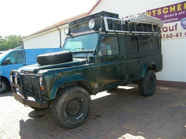 verkauft land rover defender 110 tdi gebraucht 1998 km in teutschenthal. Black Bedroom Furniture Sets. Home Design Ideas