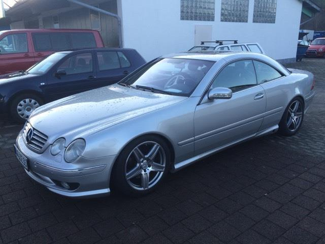 verkauft mercedes cl500 gebraucht 2001 km in. Black Bedroom Furniture Sets. Home Design Ideas