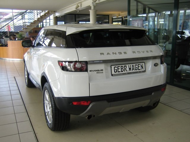verkauft land rover range rover evoque gebraucht 2011 km in m nchengladbach. Black Bedroom Furniture Sets. Home Design Ideas