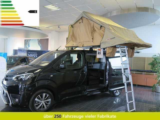 verkauft toyota proace camper l2 dachz gebraucht 2018. Black Bedroom Furniture Sets. Home Design Ideas