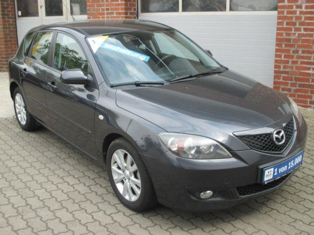 verkauft mazda 3 1 6 flie heck gebraucht 2007 km. Black Bedroom Furniture Sets. Home Design Ideas