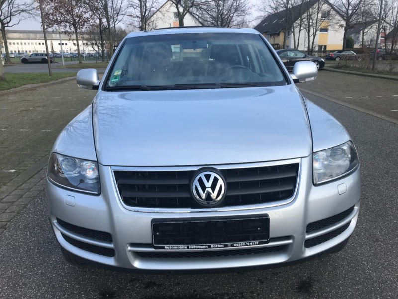 verkauft vw touareg v6 tdi gebraucht 2005 km in hannover. Black Bedroom Furniture Sets. Home Design Ideas