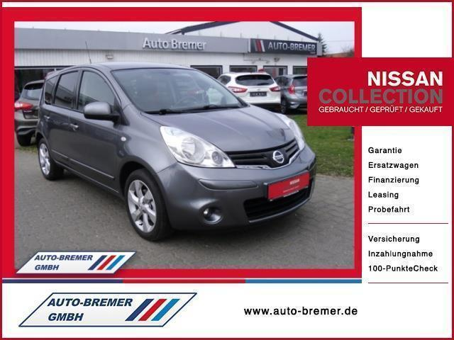 verkauft nissan note 1 4 acenta gebraucht 2011 km. Black Bedroom Furniture Sets. Home Design Ideas