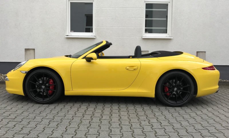 verkauft porsche 991 s cabrio mit ap gebraucht 2012 km in wiesbaden. Black Bedroom Furniture Sets. Home Design Ideas