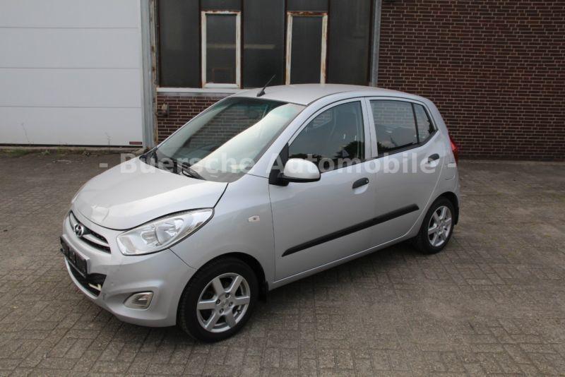 verkauft hyundai i10 5 star edition kl., gebraucht 2013, 60.200 km