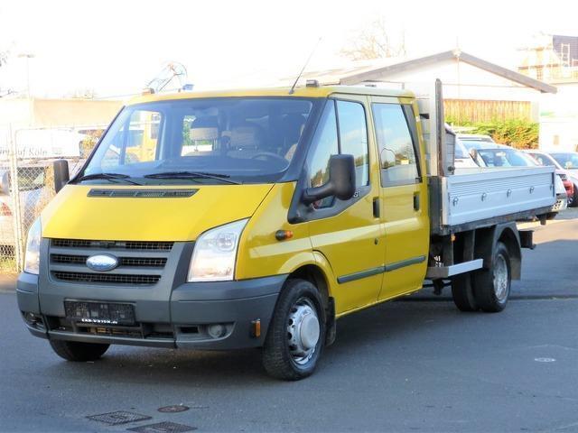 1 4 Gebraucht Ford Transit Doka Pritsche Zwillingsbereift 7sitze