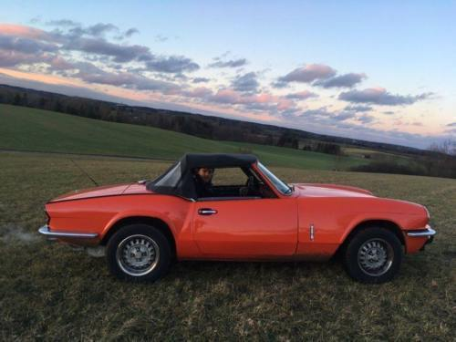 verkauft triumph spitfire 1500 rot 198 gebraucht 1981. Black Bedroom Furniture Sets. Home Design Ideas