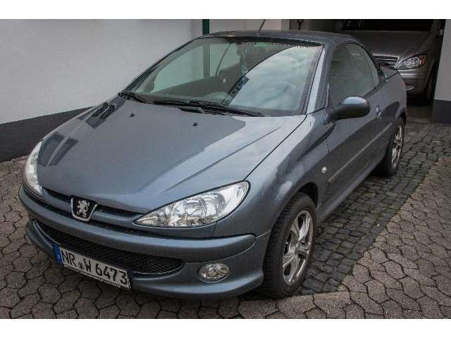 verkauft peugeot 206 cc gebraucht 2006 km in neuwied. Black Bedroom Furniture Sets. Home Design Ideas