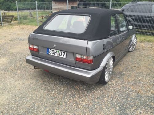 gebraucht cabrio vw golf cabriolet 1990 km in geltorf. Black Bedroom Furniture Sets. Home Design Ideas