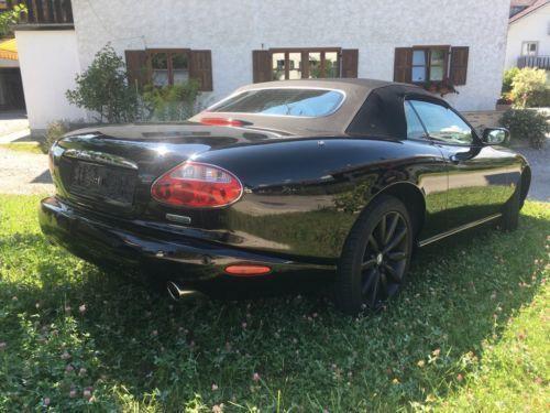verkauft jaguar xk8 4 2 cabrio vollaus gebraucht 2008. Black Bedroom Furniture Sets. Home Design Ideas