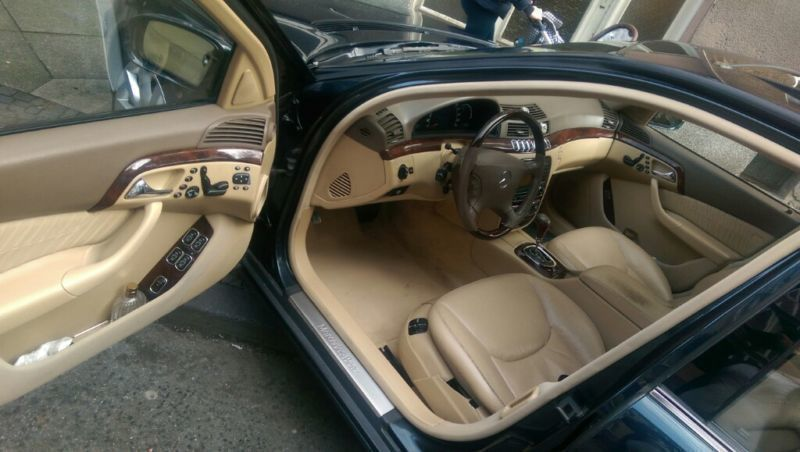 verkauft mercedes s500l gebraucht 1999 km in dortmund. Black Bedroom Furniture Sets. Home Design Ideas