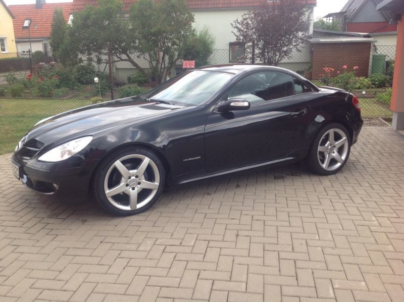 verkauft mercedes slk200 kompressor au gebraucht 2007 km in thale. Black Bedroom Furniture Sets. Home Design Ideas