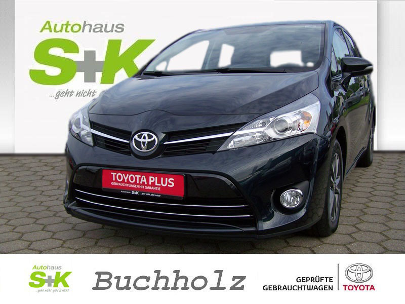 gebraucht skyview edition 5 sitzer 1 6 l d 112 ps toyota verso 2015 km in buchholz. Black Bedroom Furniture Sets. Home Design Ideas