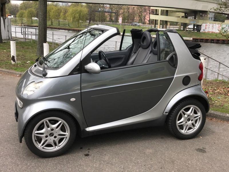 verkauft smart fortwo cabrio gebraucht 2002 km in berlin. Black Bedroom Furniture Sets. Home Design Ideas