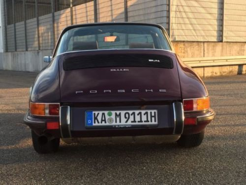 verkauft porsche 911 gebraucht 1972 km in bruchsal. Black Bedroom Furniture Sets. Home Design Ideas