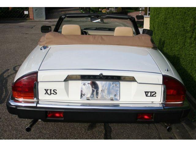 verkauft jaguar xjs v12 automatik cabr gebraucht 1991. Black Bedroom Furniture Sets. Home Design Ideas