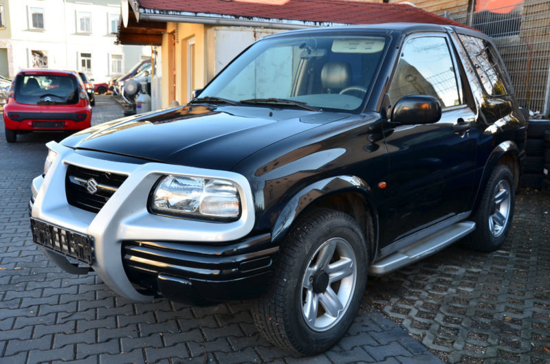 verkauft suzuki grand vitara cabrio 2 gebraucht 2000 km in zwickau. Black Bedroom Furniture Sets. Home Design Ideas