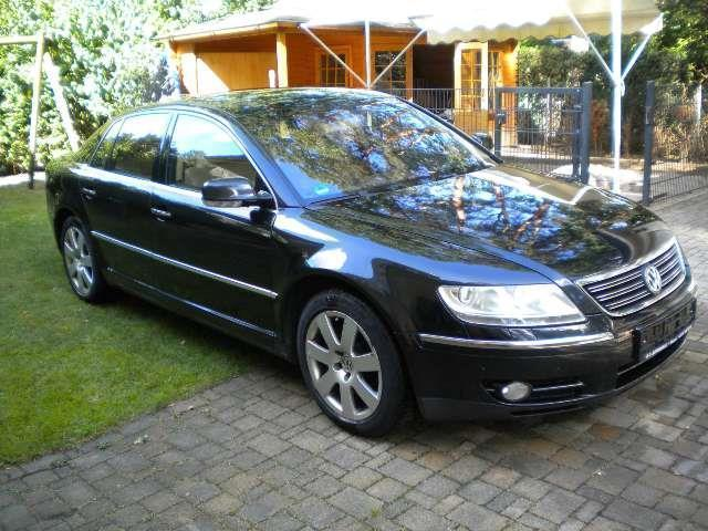 verkauft vw phaeton 5 0 v10 tdi 4motio gebraucht 2005 km in halle saale. Black Bedroom Furniture Sets. Home Design Ideas