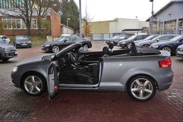 verkauft audi a3 cabriolet 2 0 tdi s l gebraucht 2014. Black Bedroom Furniture Sets. Home Design Ideas