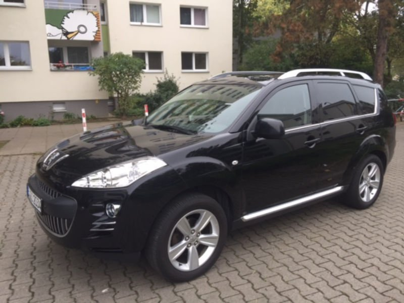 verkauft peugeot 4007 hdi fap 7 sitzer gebraucht 2011 km in tempelhof. Black Bedroom Furniture Sets. Home Design Ideas