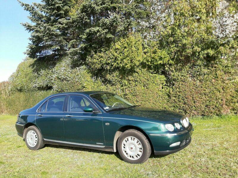 Verkauft Rover 75 MG( RJ ) aus 1.Hand ., gebraucht 1999 ...