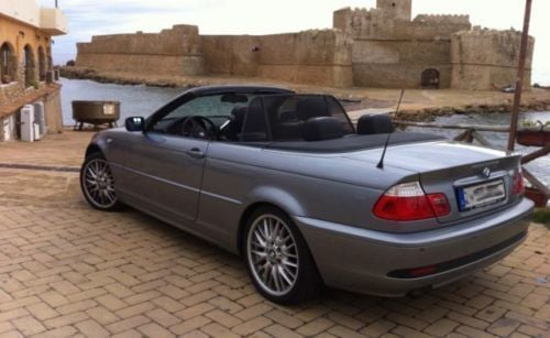 gebraucht bmw 320 cabriolet 2005 km in merzig autouncle. Black Bedroom Furniture Sets. Home Design Ideas