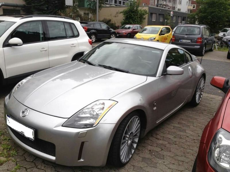 verkauft nissan 350z gebraucht 2004 km in bremerhaven. Black Bedroom Furniture Sets. Home Design Ideas