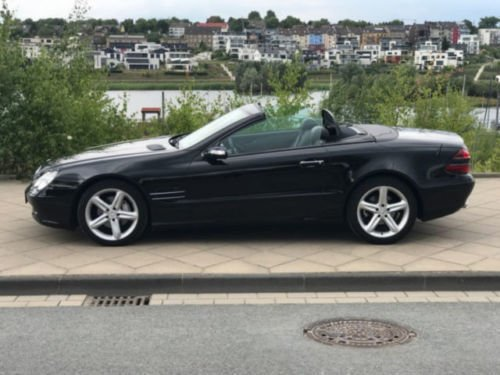 verkauft mercedes sl350 automatik gebraucht 2005 km in dortmund h rde. Black Bedroom Furniture Sets. Home Design Ideas