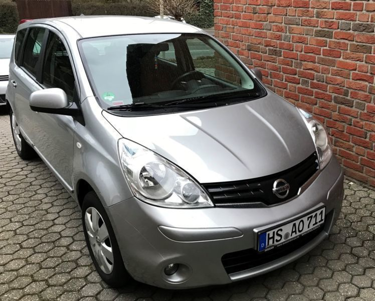 verkauft nissan note 1 4 acenta gebraucht 2010 km. Black Bedroom Furniture Sets. Home Design Ideas